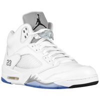 Jordan Retro 5 - Men's - White / Black