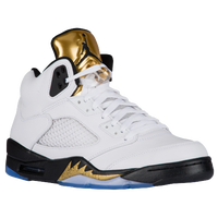 Jordan Retro 5 - Men's - USA - White / Black