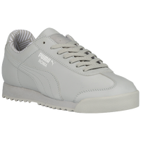 PUMA Roma - Boys' Grade School - Grey / White