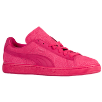 PUMA Suede Classic - Women's - Pink / Pink