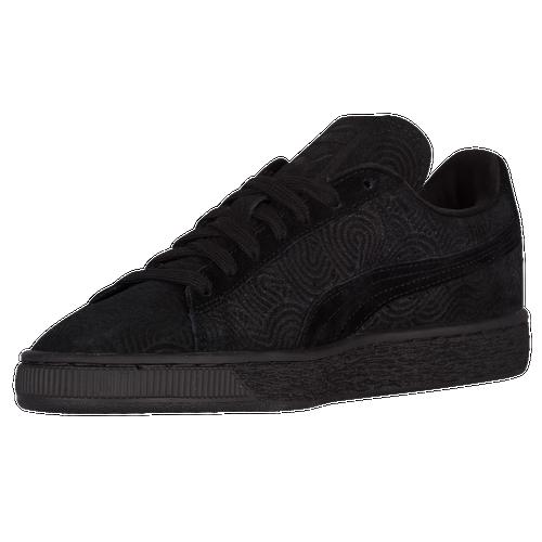 navy puma suede womens shoes