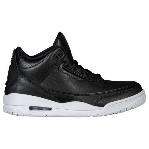 Jordan Retro 3 - Men\u0026#39;s - Black / White
