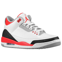 Jordan Retro 3 - Men's - White / Black
