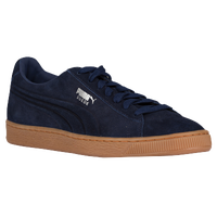 PUMA Suede Classic - Men's - Navy / Tan