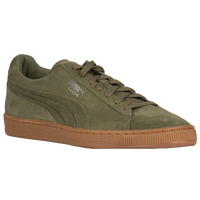 PUMA Suede Classic - Men's - Olive Green / Tan