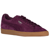PUMA Suede Classic - Men's - Purple / Brown