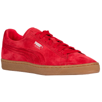 PUMA Suede Classic - Men's - Red / Tan