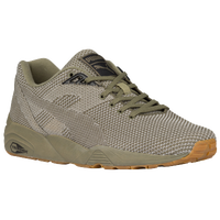 PUMA Trinomic - Men's - Olive Green / Tan