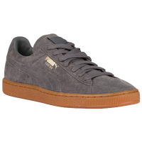 PUMA Suede Classic - Men's - Grey / Tan
