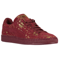 PUMA Suede Classic - Men's - Red / Gold