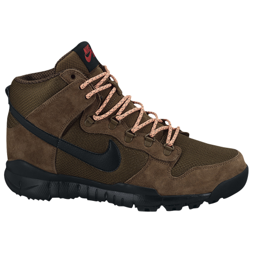 Nike SB Dunk High Boots - Men's - Brown / Tan