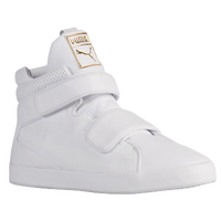 PUMA Apex Mid - Men's - White / Gold