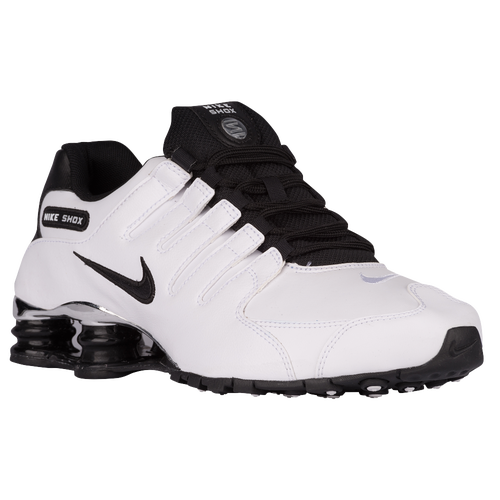 Nike Shox NZ - Men\u0026#39;s - White / Black