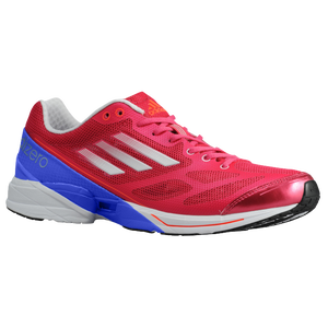 adidas adiZero Feather 2 - Women's - Bright Pink/White/Lab Blue