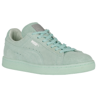 PUMA Suede Classic - Women's - Light Green / Light Green
