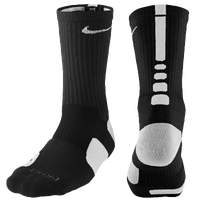 Nike Elite Basketball Crew Socks - Men's - Black / White