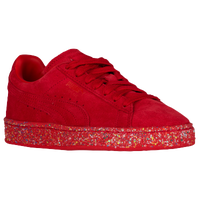 PUMA Suede Classic - Boys' Preschool - Red / Red