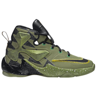 Nike LeBron XIII - Boys' Grade School - Light Green / Black
