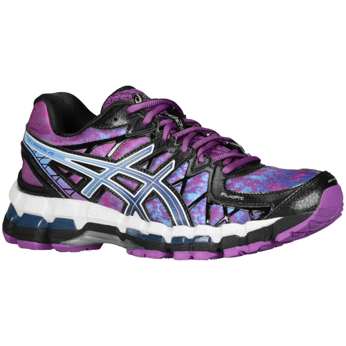 asics gel kayano purple