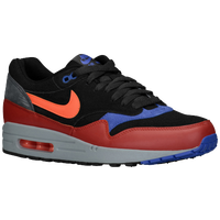 Nike Air Max 1 - Men's - Black / Red