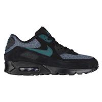 Nike Air Max 90 - Men's - Black / Aqua