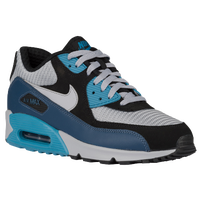 Nike Air Max 90 - Men's - Grey / Light Blue