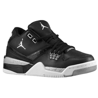 Jordan Flight 23 - Boys' Grade School - Black / White