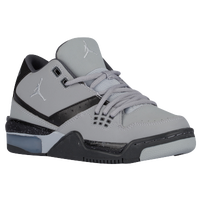 Jordan Flight 23 - Boys' Grade School - Grey / Black