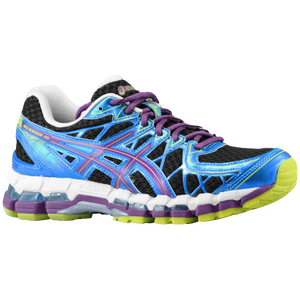 ASICS� GEL-Kayano 20 - Women's - Black/Plum/Blue