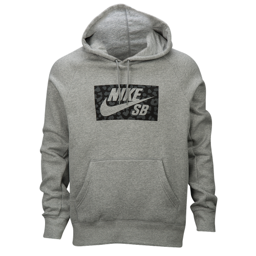 Nike SB Jagmo Icon Hoodie - Men's - Grey / Black