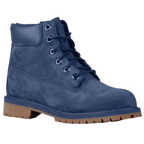 Unique Timberland Navy Glancy High Heel Boots In Blue  Lyst