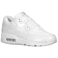 Nike Air Max 90 - Women's - All White / White