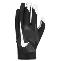Nike Torque 2.0 Football Gloves - Boys' Grade School - Black / White