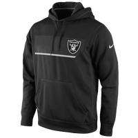 Nike NFL Therma-Fit Performance Hoodie - Men's - Oakland Raiders - Black / Grey