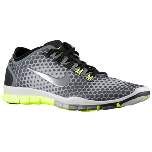 Nike Free TR Connect 2 - Women's - Black/Med Base Grey/Lt Grey/Volt
