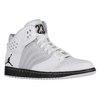 Jordan 1 Flight 4 - Men\u0026#39;s - White / Grey
