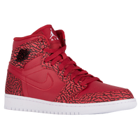 Jordan AJ 1 High - Men's - Red / White