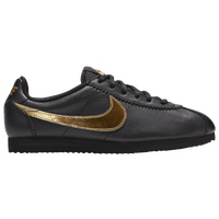 Nike Cortez - Boys' Grade School - Black / Gold