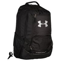 Under Armour Hustle Backpack II - Black / Silver