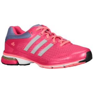 adidas Supernova Glide 5 - Women's - Blast Pink/Tech Silver Metallic/Red Zest