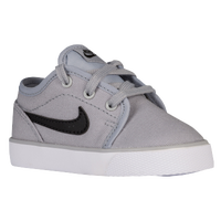 Nike Toki Low - Boys' Toddler - Grey / Black
