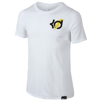 Nike KD World Of Skill S/S T-Shirt - Boys' Grade School -  Kevin Durant - White / Black