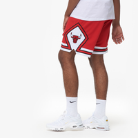 Mitchell & Ness NBA Authentic Shorts - Men's - Chicago Bulls - Red / White