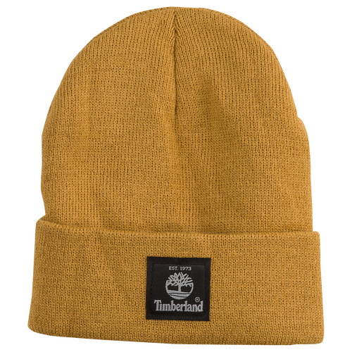 Timberland Solid Heather Watchcap - Men's - Gold / Gold