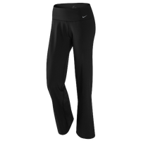 Nike Legend Regular Pant - Women's - All Black / Black