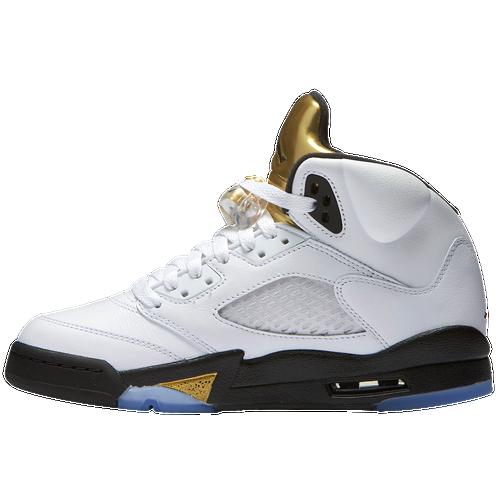 the latest 974dc 5ed17 boys' grade school air jordan retro 5 low basketball shoes