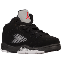 Jordan Retro 5 - Boys' Toddler - Black / Red