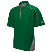Mizuno Protect Batting Jacket - Men's - Dark Green / Grey