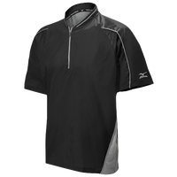 Mizuno Protect Batting Jacket - Men's - Black / Grey