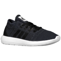 adidas Element Refine - Boys' Preschool - Black / White